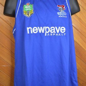 Newcastle Knights NRL Licensed Training Singlet